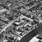 St Paul's Church and Bedford Town Bridge 1929. Author Aerofilms Ltd.. Source: Historic England Archive