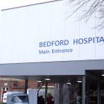 Bedford Hospital entrance