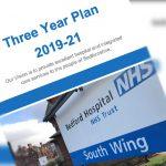 Bedford Hospital three-year-plan