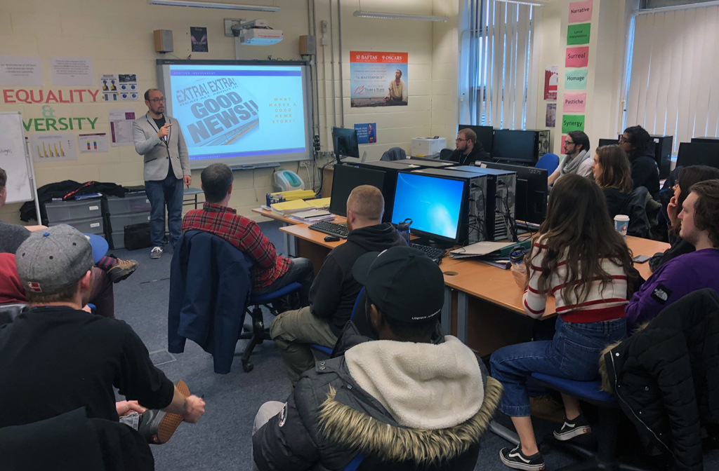 Bedford College Media Students Journalism