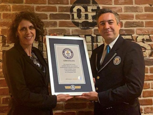 Brewhouse & Kitchen World Record