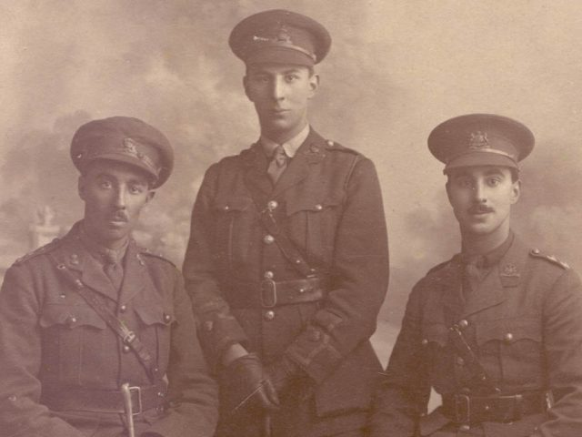 Palmer brothers Bedford Modern School WW1 Centenary