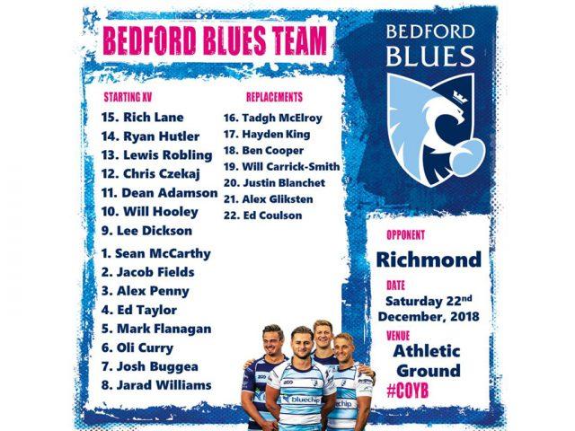 Bedford v Richmond 22 dec 18