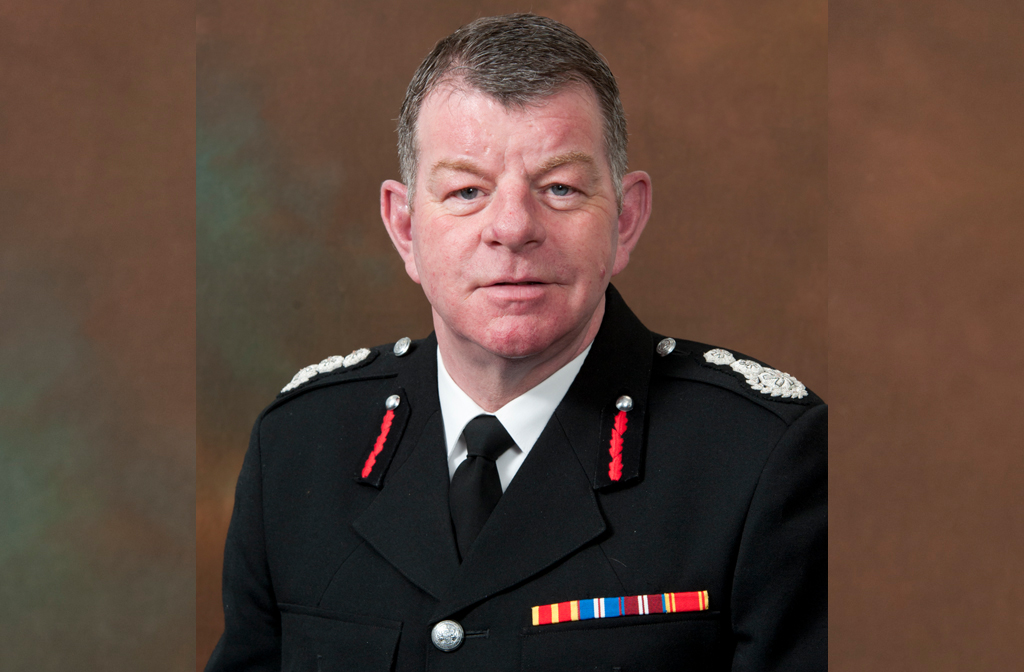 Chief Fire Officer Paul Fuller
