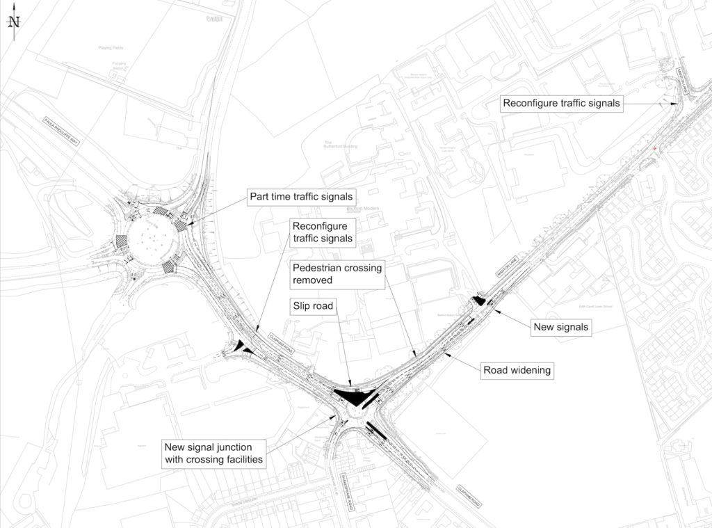 Manton Lane Area Initial Design Footbridge