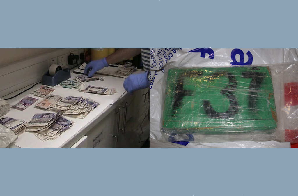 Prison Drug Deal cash and drugs