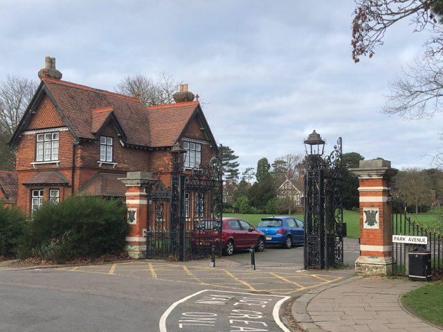 Bedford Park Entrance