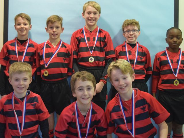Bedford Modern School boys cross country team.