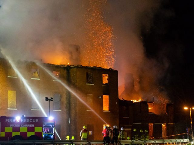Jon Pauling Bedford Hospital 'North Wing' fire6