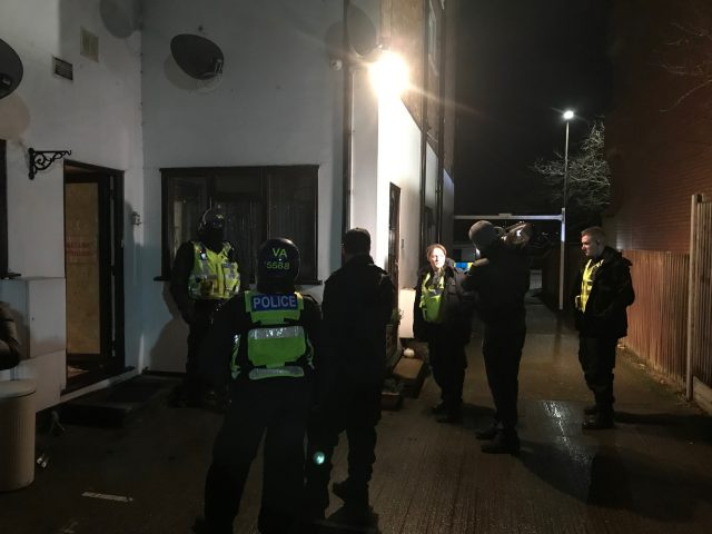 Bedfordshire Police County Lines raids January 21 22 2019