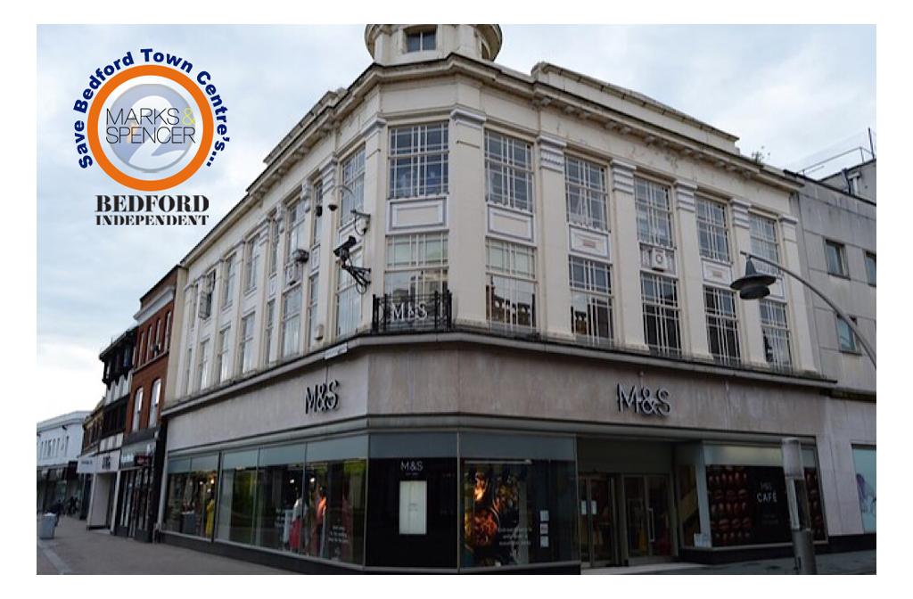 Save Bedford Town Centre's Marks and Spencer