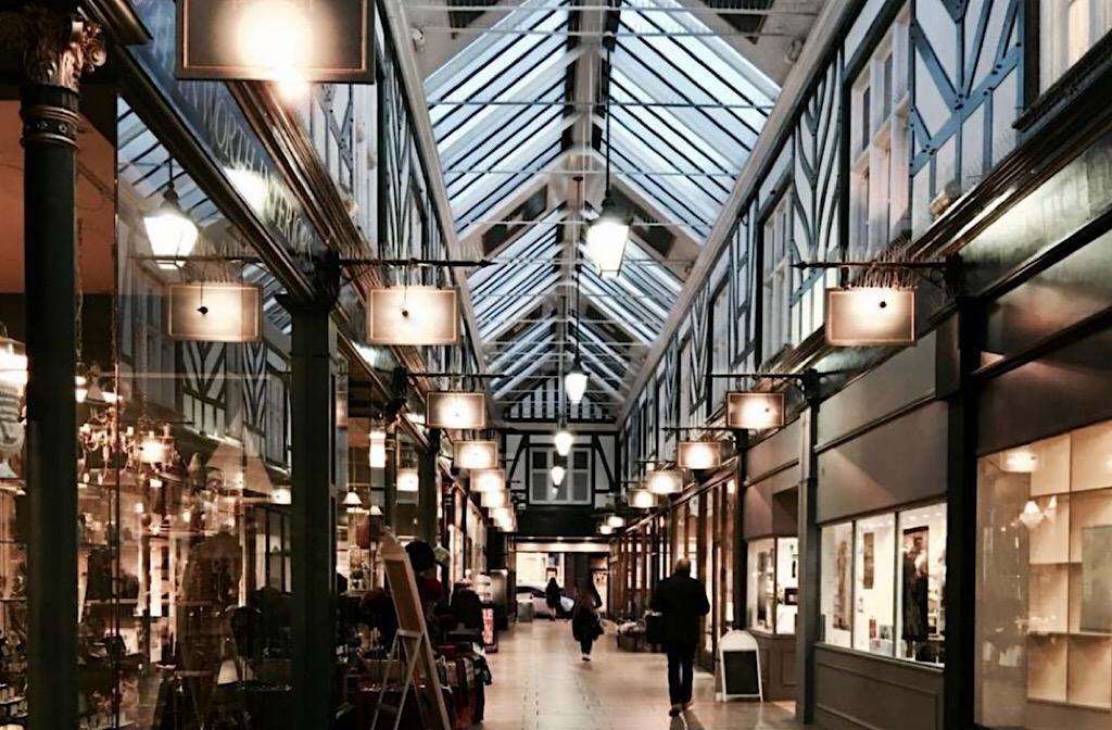 Bedford's Old Arcade