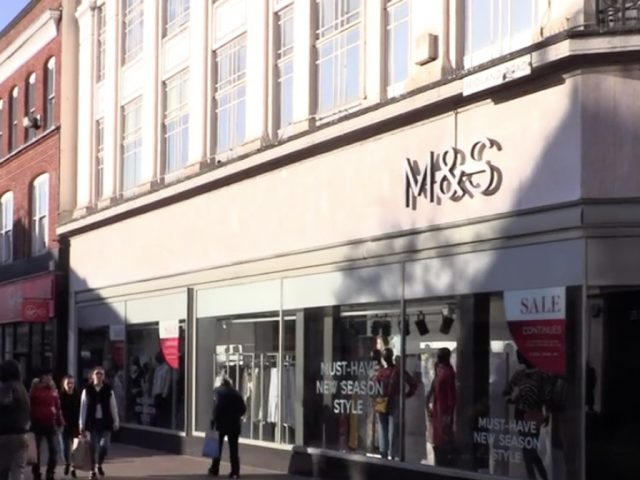 Marks and Spencer External Corner