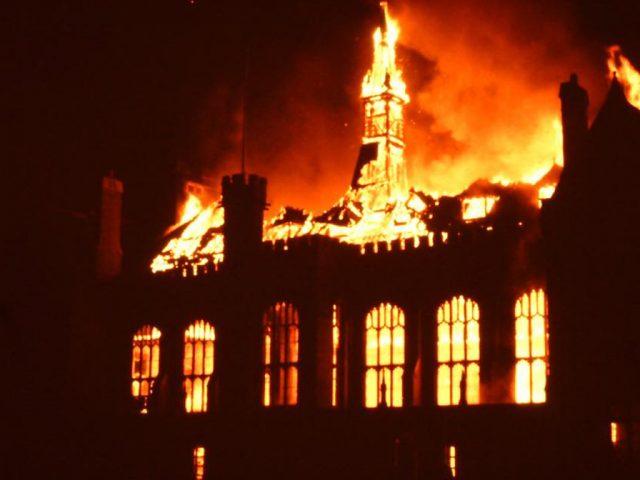 Bedford School Fire