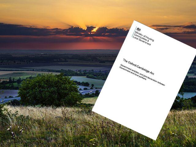 CPRE Oxford to Cambridge development plan