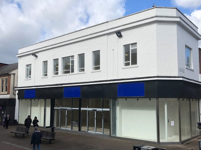 Former BHS store empty