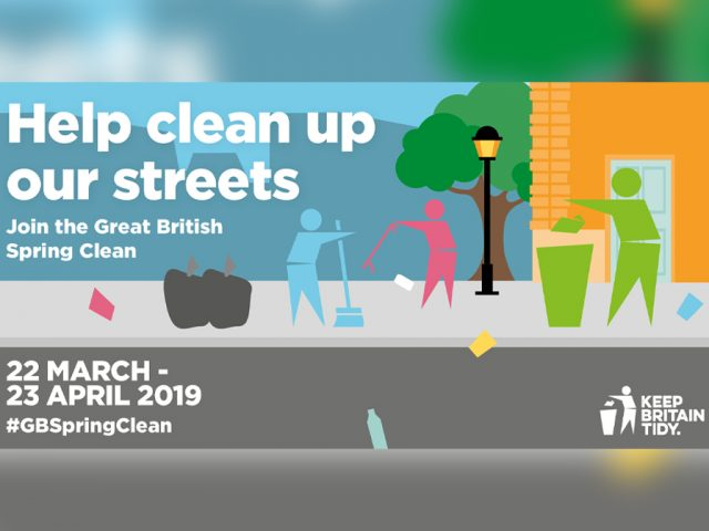 Great British Spring Clean Bedford Streets
