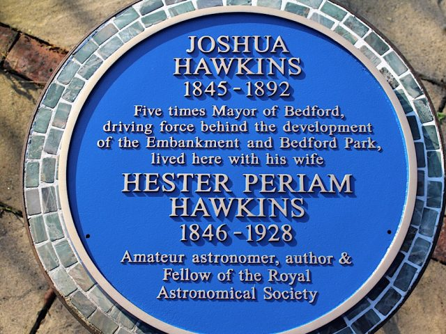 Joshua Hawkins Blue Plaque