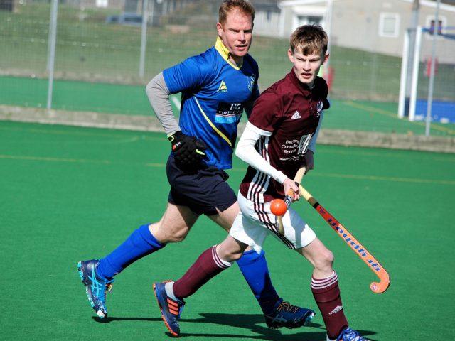 Men's 3s in action against Blueharts