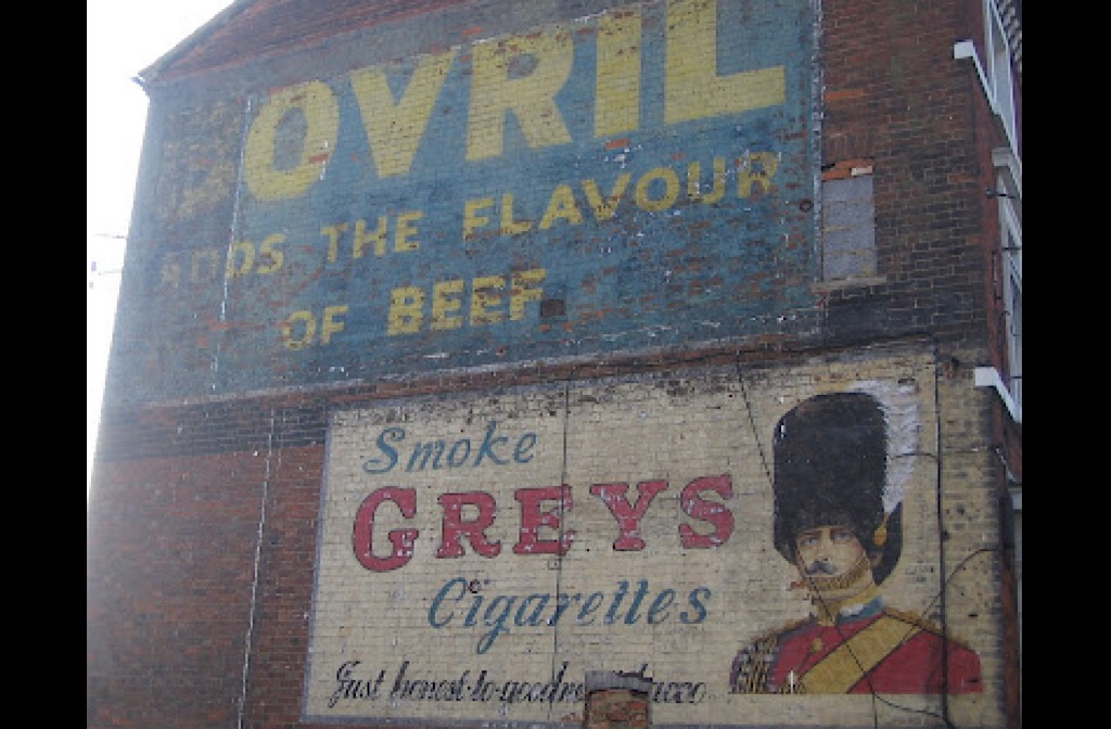 Ghost sign Midland Road