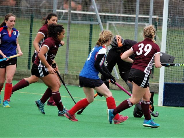 Solid defensive play by the Ladies' 3s prevented Bishops Stortford from scoring