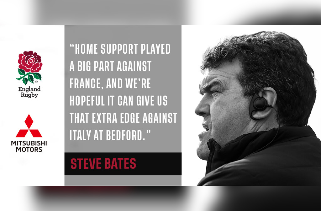 Steve Bates England U20s