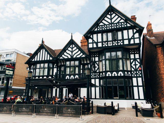 The Embankment Pub Bedford Exterior