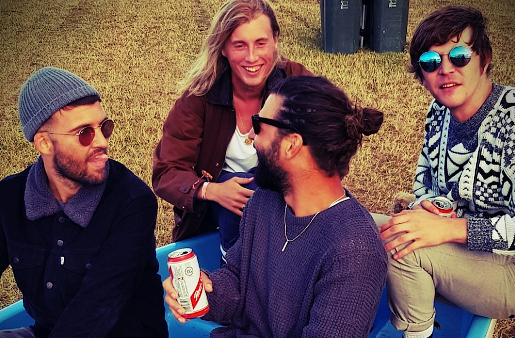 The Scruff at a festival