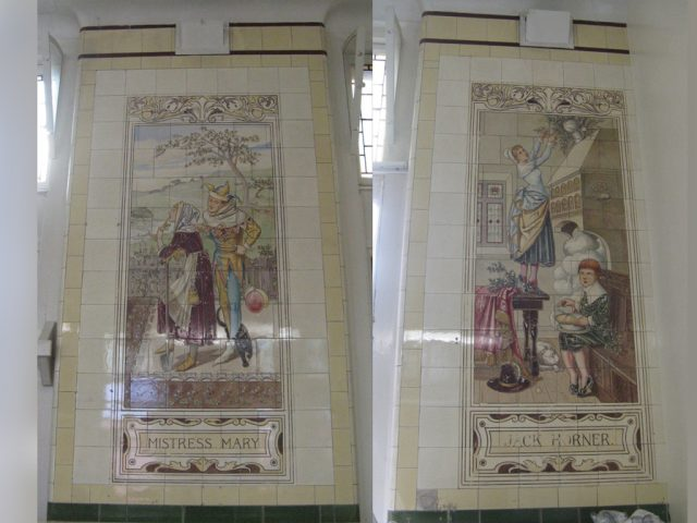 Victoria Ward Nursery Rhyme Tiles 3
