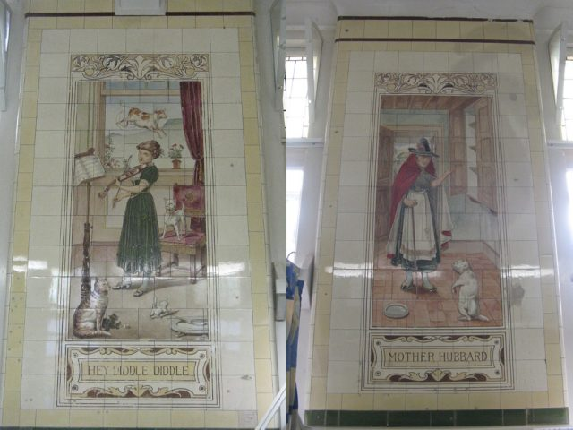 Victoria Ward Nursery Rhyme Tiles