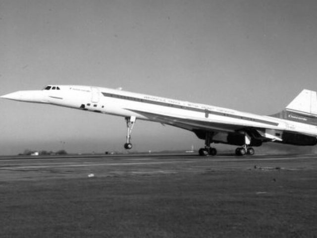 RAE Bedford Picture of Concorde