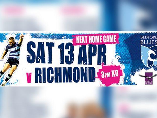 Bedford Blues v Richmond 13 Apr feature