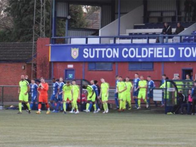 Bedford Town at Sutton Coldfield