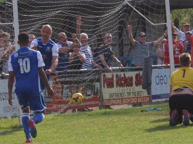 Bedford Town v AFC Dunstable 22 April