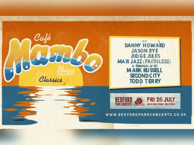 Cafe Mambo Bedford Park Concerts banner