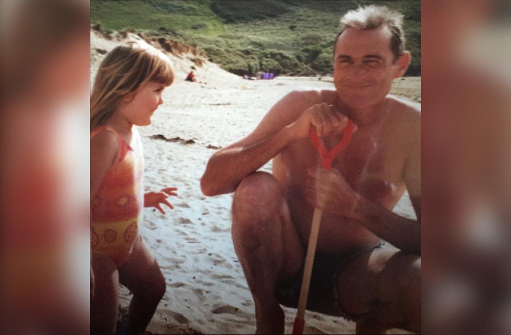 David Thompson and his daughter Rachel