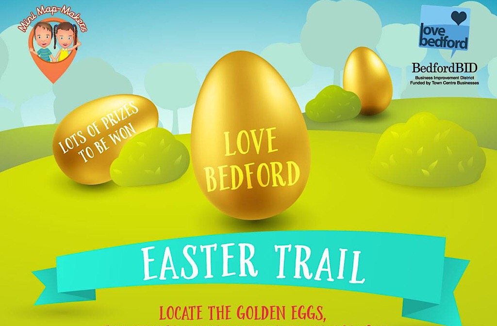 Love Bedford easter trail