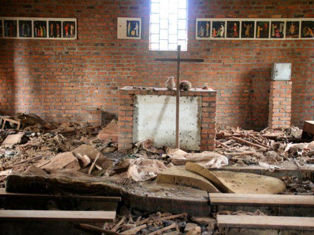 Ntrama Church Altar, Rwanda