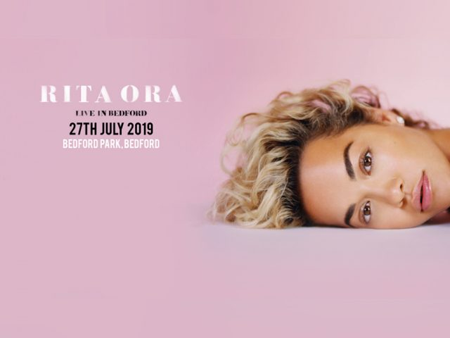Rita Ora Live in Bedford Park banner 27 July 2019