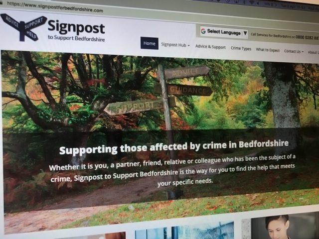 Signpost Hub website