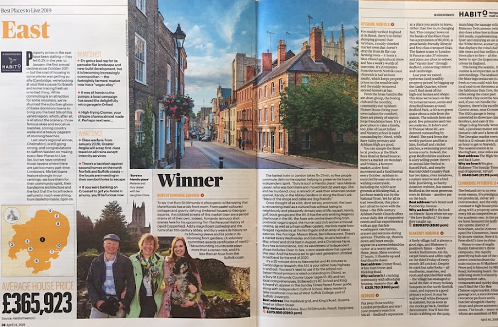 Sunday Times Best Places to Live