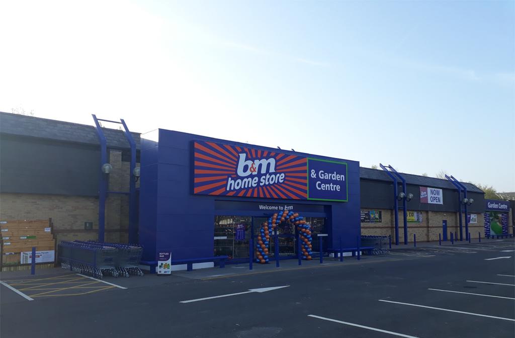 B&M Riverfield drive opening