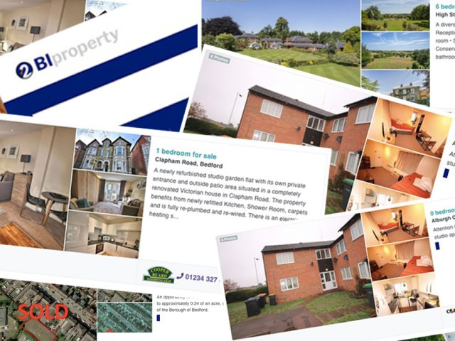 Bedford Independent Property Pages Collage