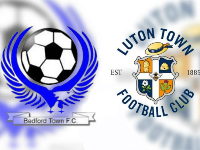Bedford Town V Luton Town Collage