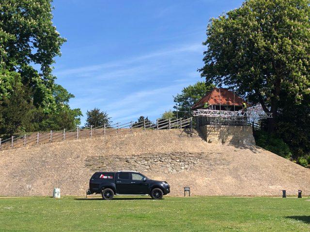 Castle Mound repairs