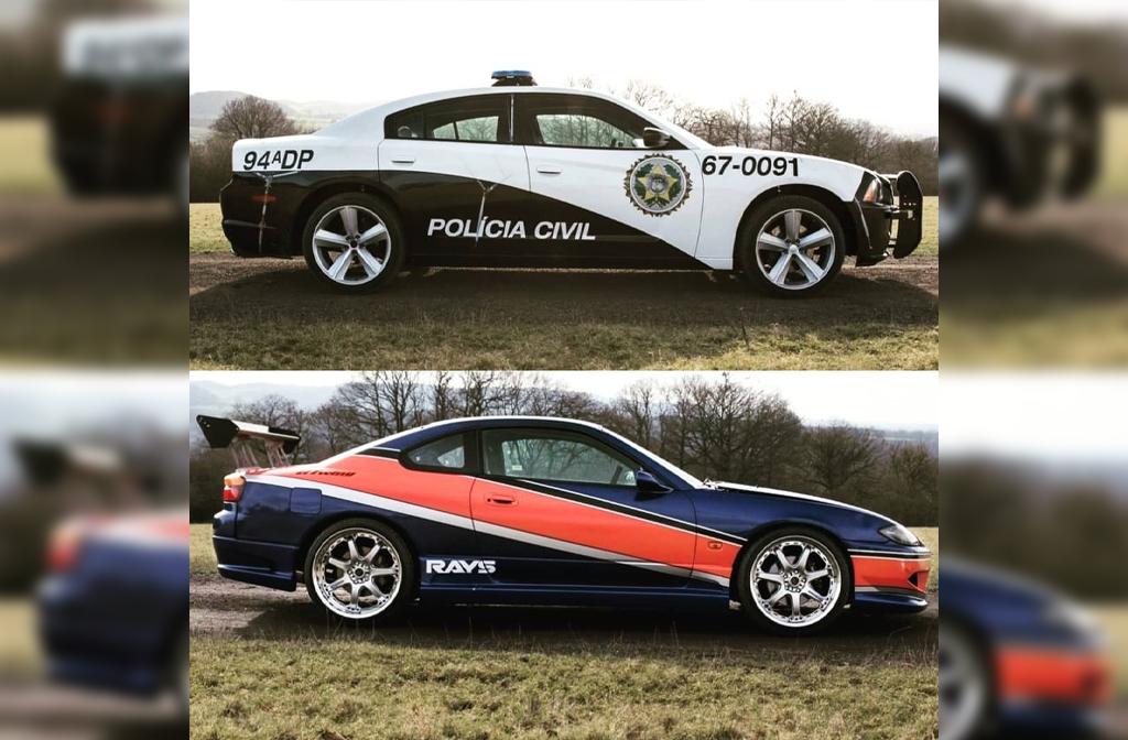 Furious7 car show
