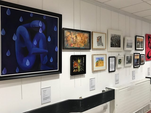 Creativity and wellbeing exhibition