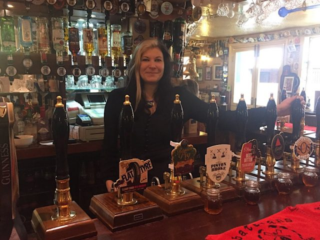 Liz at the Welly