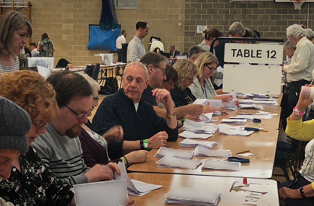 Local election count 2019 counting 2