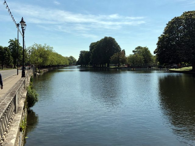 The River Great Ouse, Bedford: The Embankment
